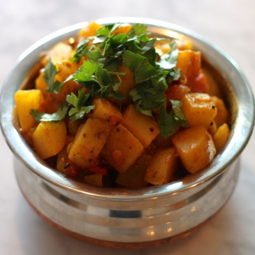 Classic Potato Curry Gujju Stylee