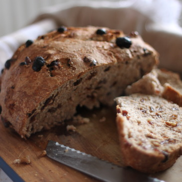 Walnut and Raisin (or Sultana) Bread