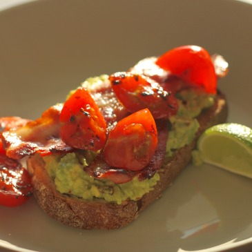 Easy Like Sunday Morning – Chilli Avocado and Bacon
