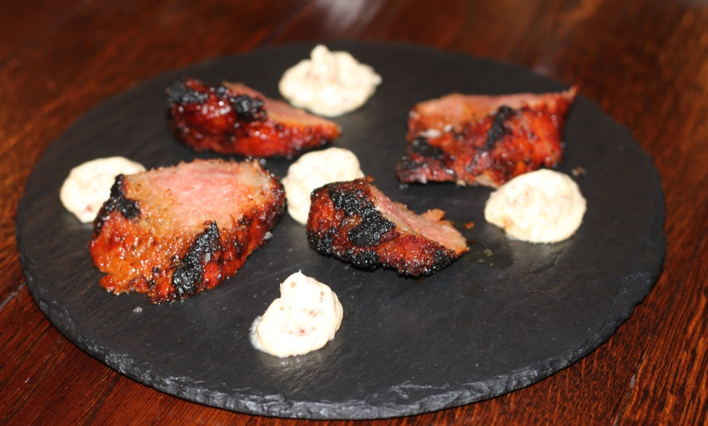 Chargrilled Iberico Presa with Whipped Jamon Butter